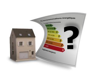 Diagnostic maison énergie DPE