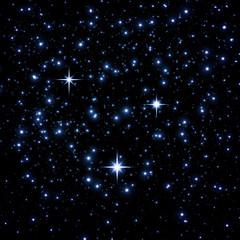 Bright star on sky