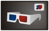 3D Goggles vector
