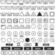 wash symbols