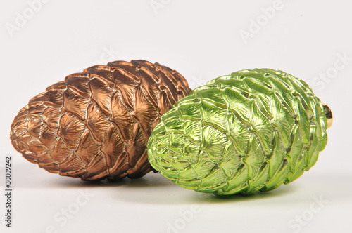 Coloured Acorns