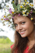 beauty girl  outdoors