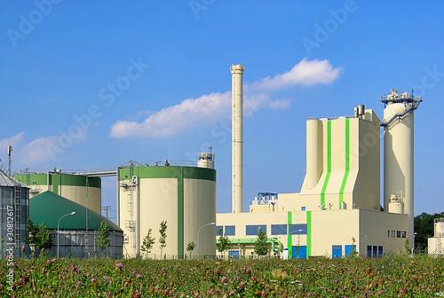 Biogasanlage - biogas plant 77 - 30812617