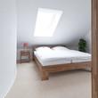 Schalfzimmer in Dachwohnung