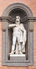 Napoli, Statua di Gioacchino Murat Palazzo Reale