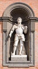 Napoli, Statua di Carlo V d'Asburgo Palazzo Reale