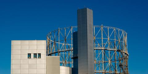 edificio industriale moderno - modern industrial building