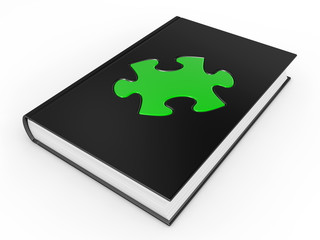 The book and puzzle