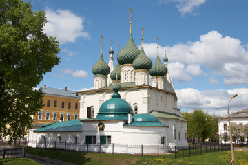 Russia, Yaroslavl. Church of Our Saviour on the Town