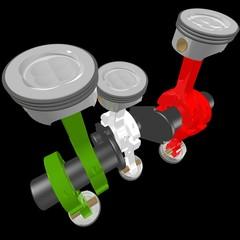 Motore italiano 6 cilindri boxer - Italian Engine
