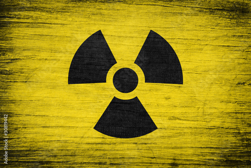 Radioactivity grunge background