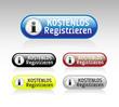 Kostenlos Registrieren Button Set