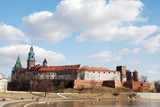 Krakau Wawel Burg Schloss poster