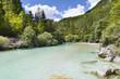 The Julian Alps in Slovenia - Soca river