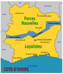 Division de la Cote d'Ivoire