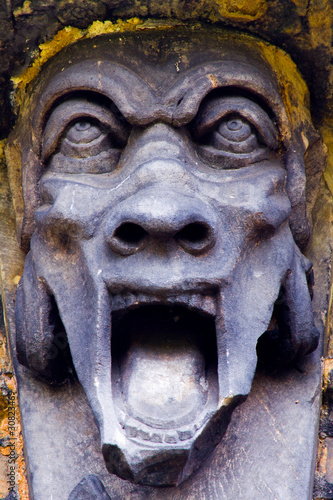 Screaming gargoyle Monument
