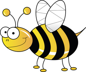 Yellow bee