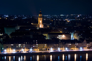 Wurzburg at night