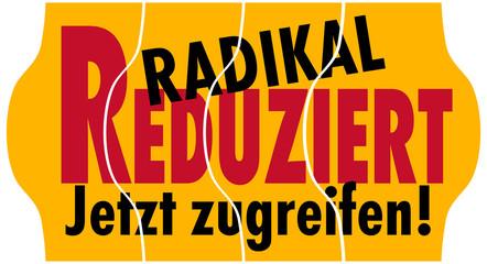 Reduziert, Radikal, zugreifen