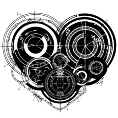 art illustration of heart