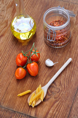 Ingredienti salsa per pasta