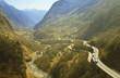 Fototapeta Podróż - Transport - Góry