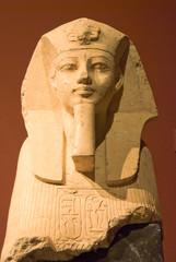 Statue of King Amenophis III as Sphinx - Vienna Art Museum