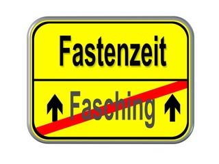 Fasching - Fastenzeit
