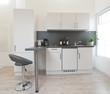 Küchenzeile in Apartment
