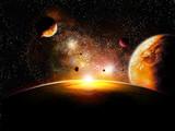 Fototapety espace planette