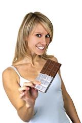 Schokolade schmeckt mir