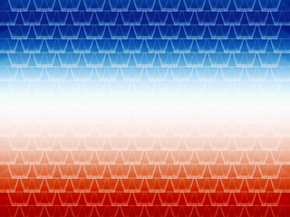 seamless abstract blue and red graphic cell shapes