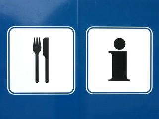 Essen - Information - Piktogramme