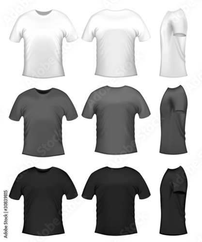 Men's t-shits, collection of diferent colors