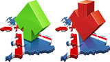 United Kingdom upward or downward