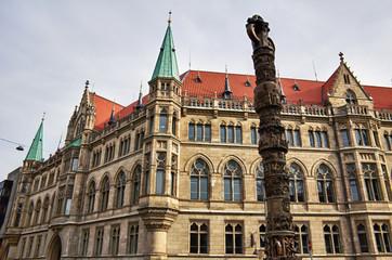 Rathaus de Braunschweig (Brunswick)