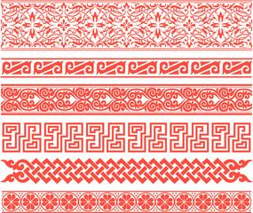 traditional border pattern design