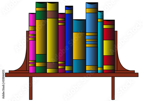 The Books in pile