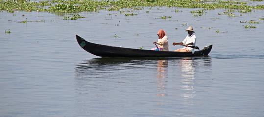 pêcheur sur backwater