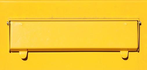 Briefkastenschlitz