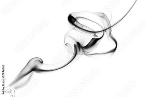 abstrakter Rauch von einem Räucherstäbchen