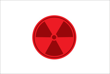 Radioactivity Japan flag