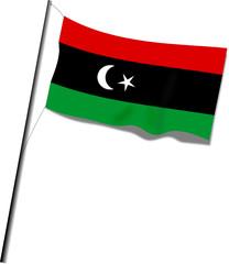 Flagge Libyen von 1951