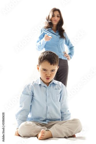 punished kid
