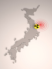 Japan - radioactive contamination