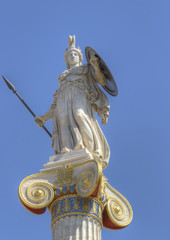 Statue of Athena from the academy of athens