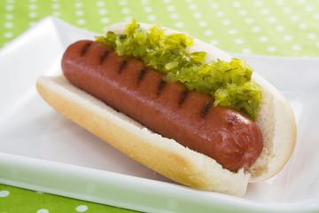 Hot Dog and Relish