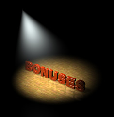 Spotlight on bonuses