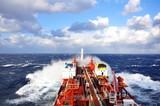 Fototapety chemical tanker at sea