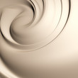 Astonishing creamy swirl. Clean, detailed render. Series.